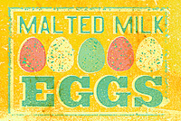 Malted Milk Eggs