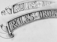 Rules of the Order