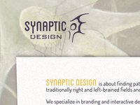 Synaptic Design website