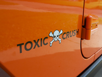 Toxic Crush Vehicle Graphic