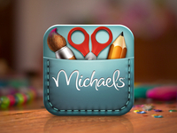 Michaels Create App Icon