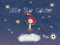 Little Star Catcher - Home Screen