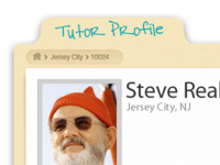 Tutor Profile Page + Zissou