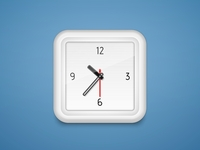 Good morning! Alarm clock icon