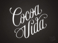 Cocoa Vida - Custom Logotype - feedback please