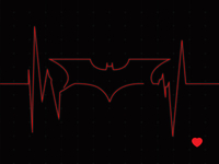 Heroes Heartbeat - Batman