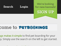 Petbookings Ribbon