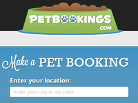 Petbookings Header