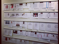 The layout wall of our Mag15 Issue (out next week).