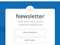 Email Sign Up Box
