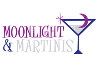 Moonlight & Martinis Logo Concept