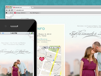 Our Responsive Wedding