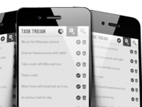 TASK TROJAN (NOT OFFICIAL) - iOS app design