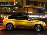 BMW X5 M gold (photo)