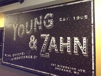 Young & Zahn Wall Graphic