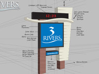 Updated 3Rivers Monument Sign