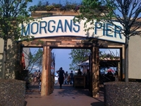 Morgan's Pier Sign - 23' x 4'