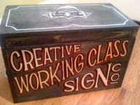 WC Creative & Sign Co. - Sign Painter's Box