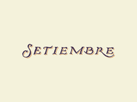 Setiembre (September)