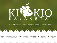 Kiškis turkeys website