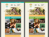 Dudley Zoo Web Design