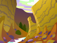 Canyon in Perspective - Finished