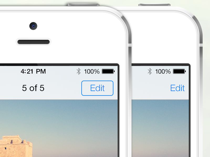 iOS 7 button improvement