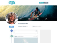 New Surfed.it Profile page