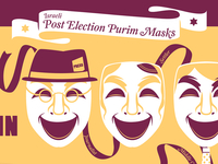 Post Election Purim Masks