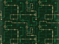 Electrical Circuit Pattern