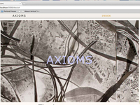 Axioms Publication - First Draft