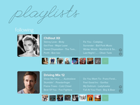 Playlists - Following