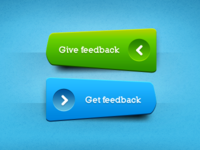 Green ^ Blue buttons, freebie