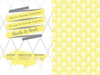 Almost Married Invitations