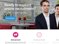 Online recruitment website