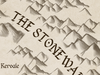 An Unfolding Tale Map - The Stonewall