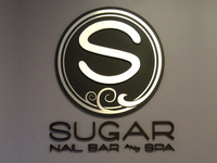 Sugar Spa Logo & Signage
