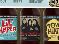 Mother's Brewing Co. Labels