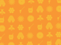 Orange, Honey, Icons