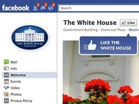 The (now replaced by Timeline) White House Facebook page