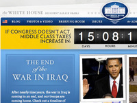 Whitehouse.gov Countdown + Hero