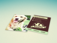 Rescuepal Business Cards