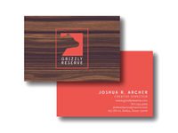 Grizzly Reserve Business Cards