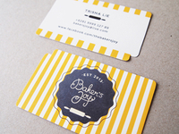 Baker's Joy Business Card