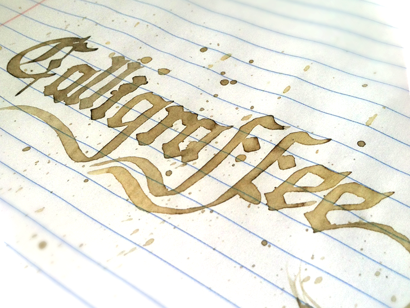 Calligraffee by Brian Stephens