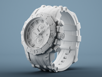 3D Model - Festina Chrono Bike 2012