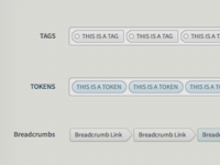 Tags, Tokens & Breadcrumbs Oh My!