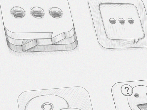 Chat-ios-icon-sketch