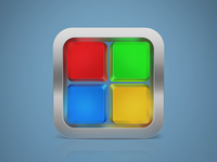 Microsoft iOS Icon