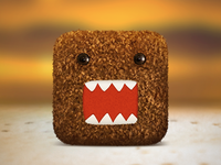Plush Domo iOS Icon